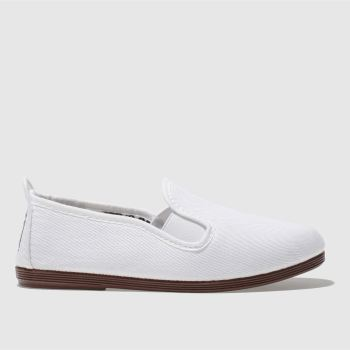 Flossy White Pamplona Unisex Junior