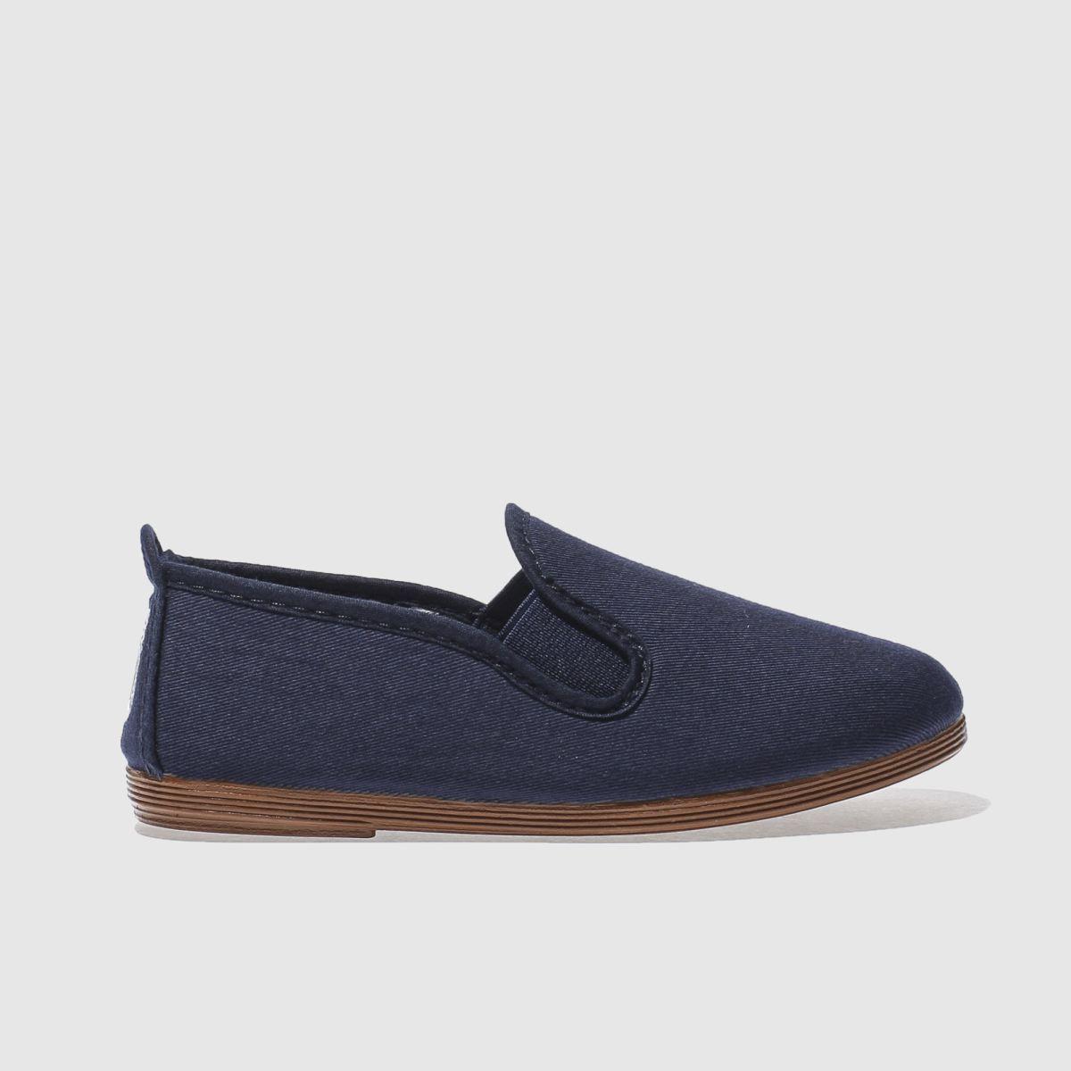 Flossy Flossy Navy Pamplona Boys Junior Shoes