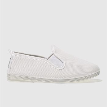 Flossy White Guadix Unisex Junior