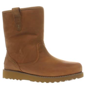 UGG TAN REDWOOD JUNIOR BOOTS
