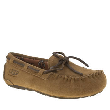 Ugg Australia Tan Ryder Jungle Slipper Unisex Junior