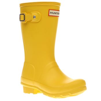 Hunter Yellow Original Kids Unisex Junior