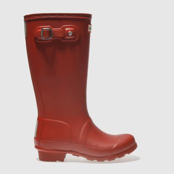 Hunter Red Original Unisex Junior
