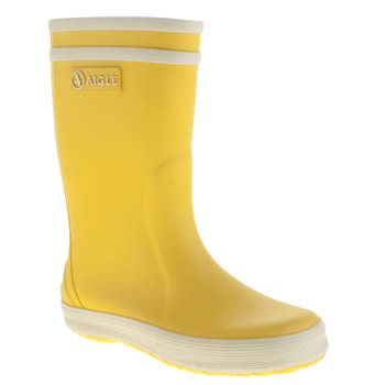 Aigle Yellow Lolly Pop Unisex Junior