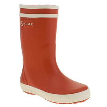 Aigle Red Lolly Pop Unisex Junior