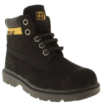 Caterpillar Black Colorado Plus Unisex Junior