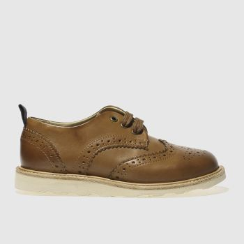 Young Soles Tan Brando Unisex Junior