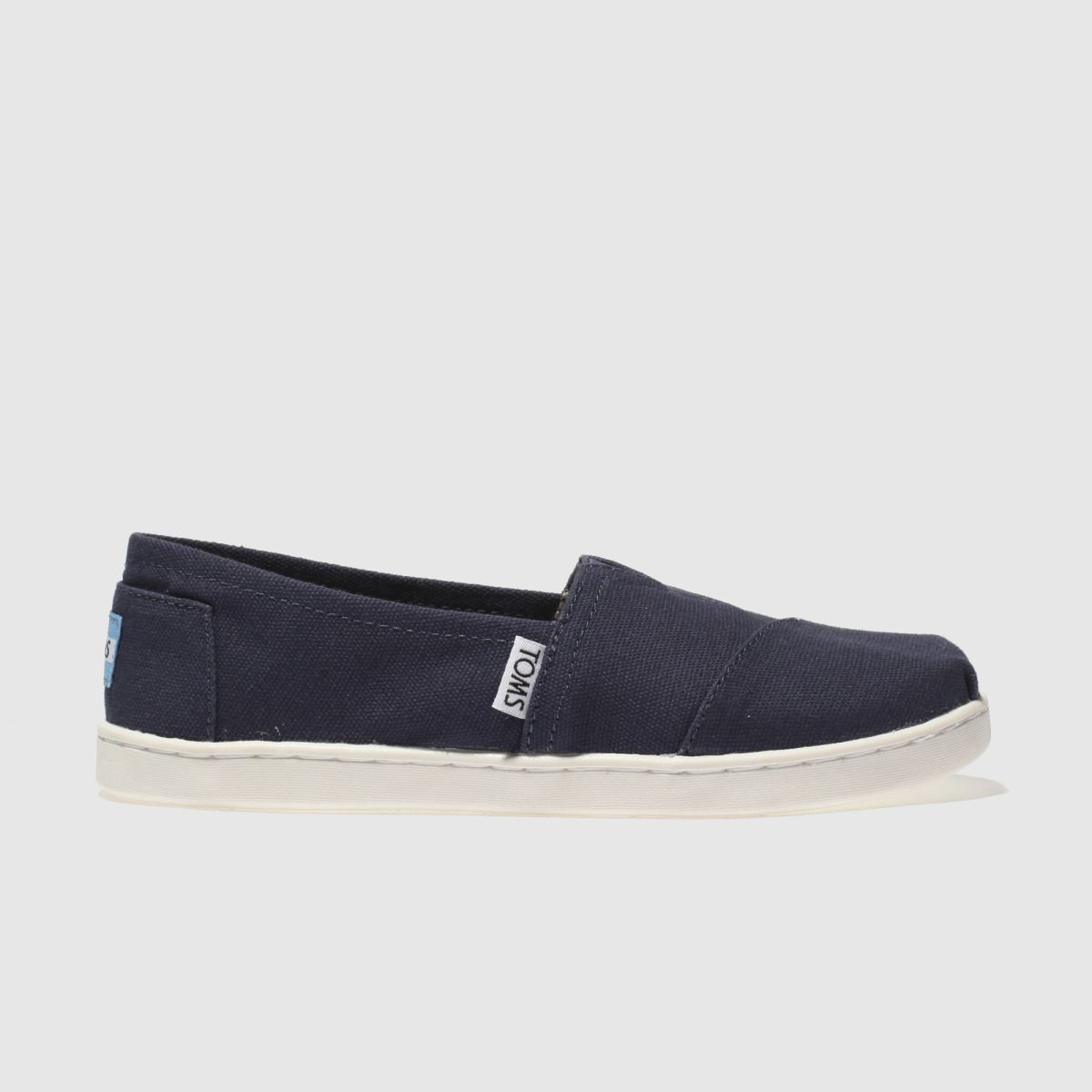 Toms Navy Classic Boots Junior