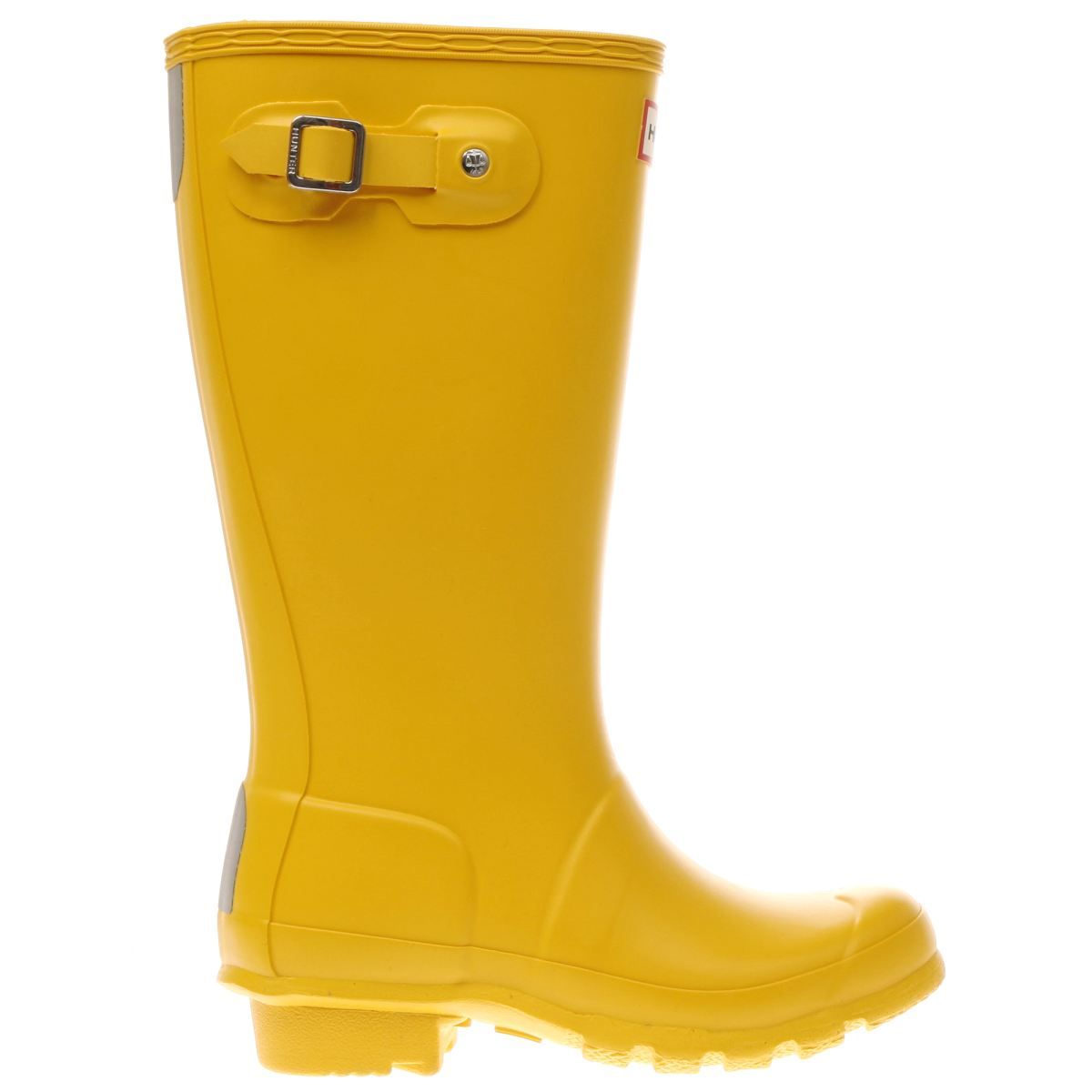 hunter yellow original Girls Junior Boots
