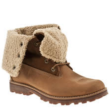 Youth Natural Timberland 6in Shearling