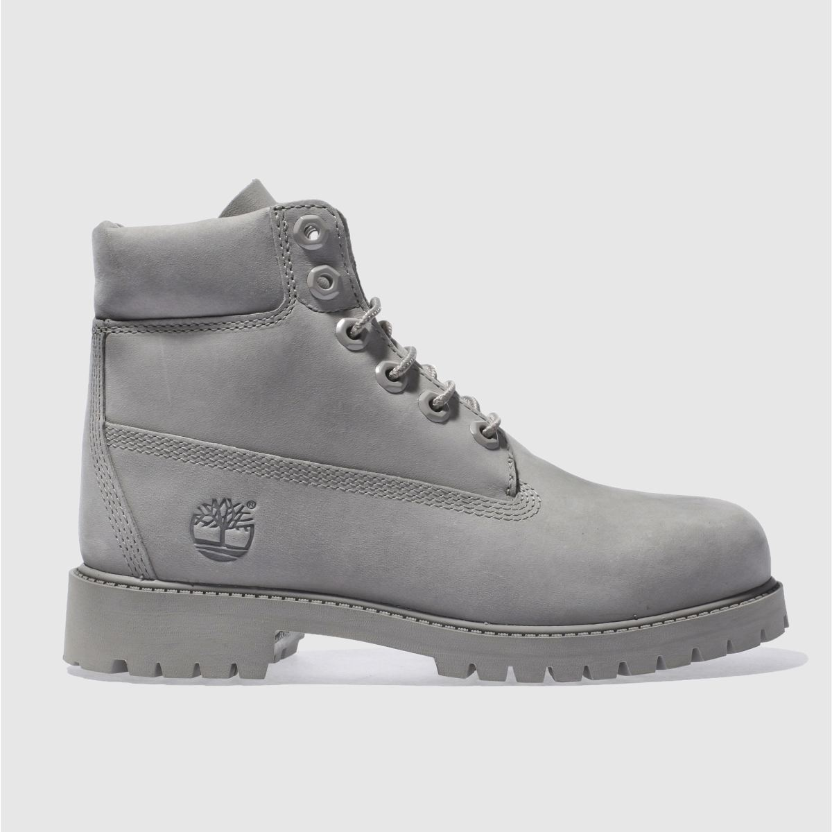 timberland grey 6 inch premium Youth Boots
