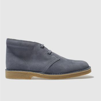 Clarks Originals Blue Desert Boot Unisex Youth