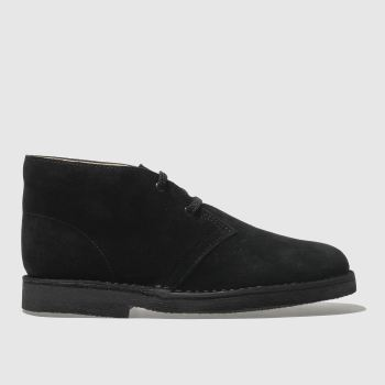 Clarks Originals Black Desert Boot Unisex Youth