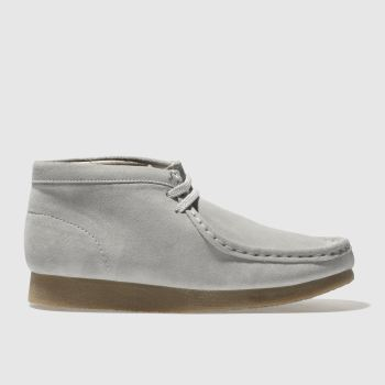 Clarks Originals Grey Wallabee Boot Unisex Youth