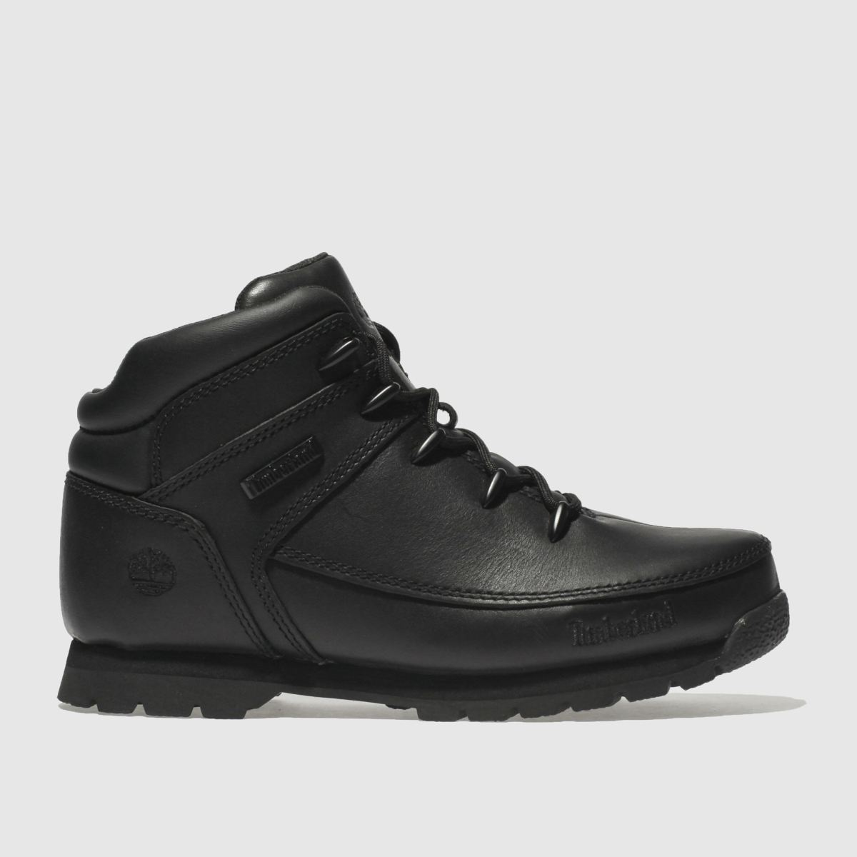 Timberland Black Euro Sprint Unisex Youth Youth