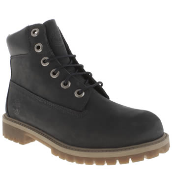 Timberland Navy 6 Inch Classic Boot Unisex Youth