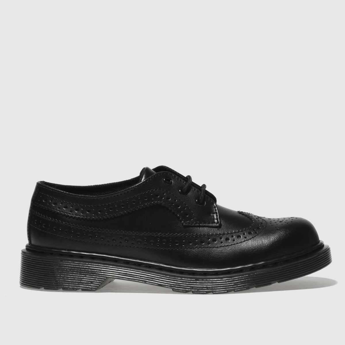 Dr Martens Black 3989 Youth Shoes