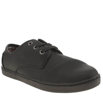 Toms Black Paseo Unisex Youth