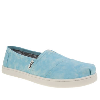 Toms Pale Blue Seasonal Classic Unisex Youth