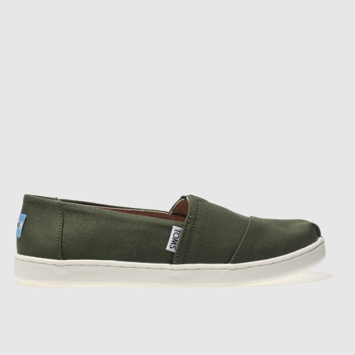 Toms Khaki Classic Youth Shoes