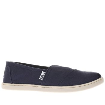 Toms Navy Classic Unisex Youth