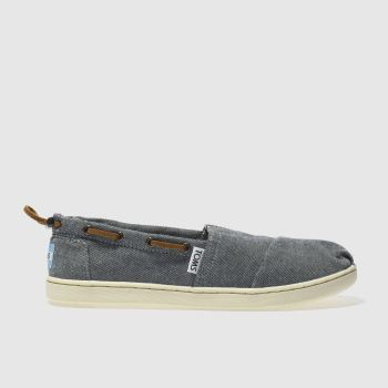 Toms Navy Bimini Unisex Youth