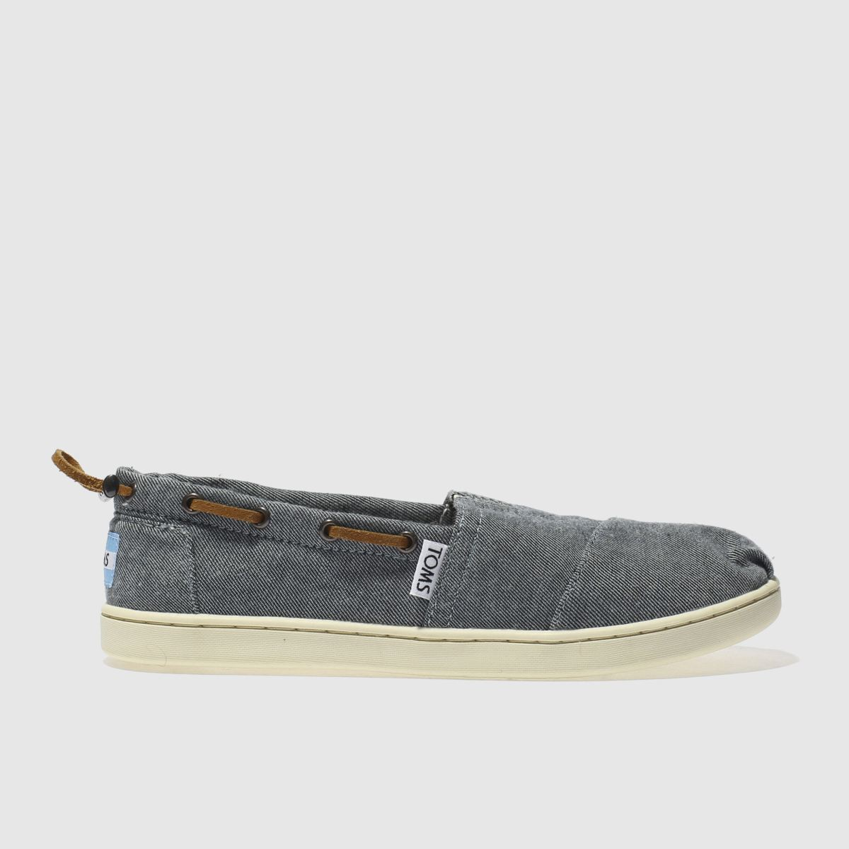 toms navy bimini Boys Youth Shoes
