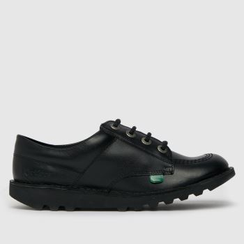 Kickers Black Kick Lo Unisex Youth