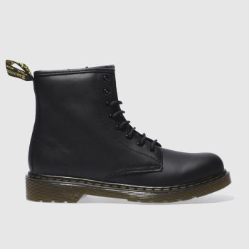 Dr Martens Black DELANEY LACE Unisex Youth