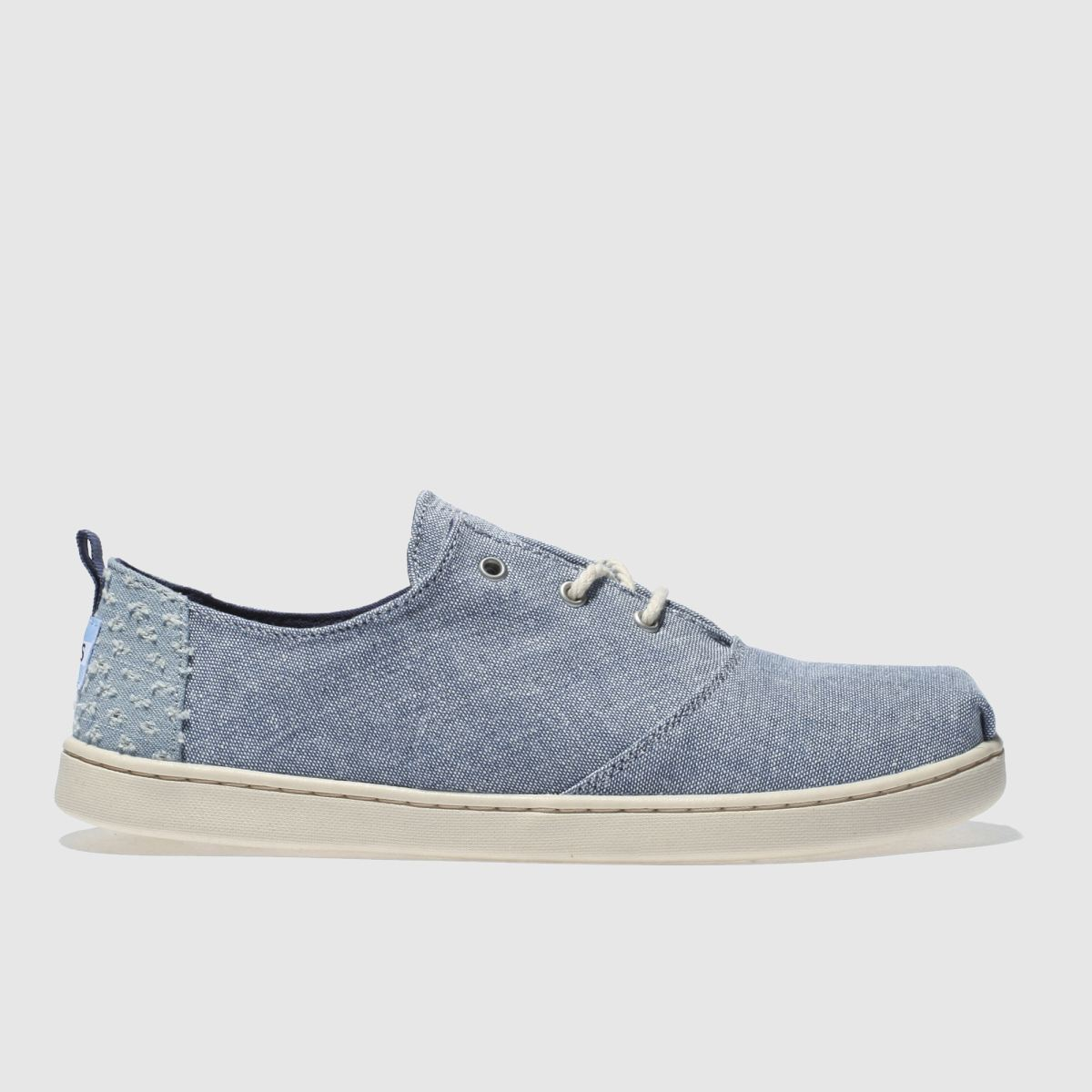 Toms Navy Lumin Youth Shoes