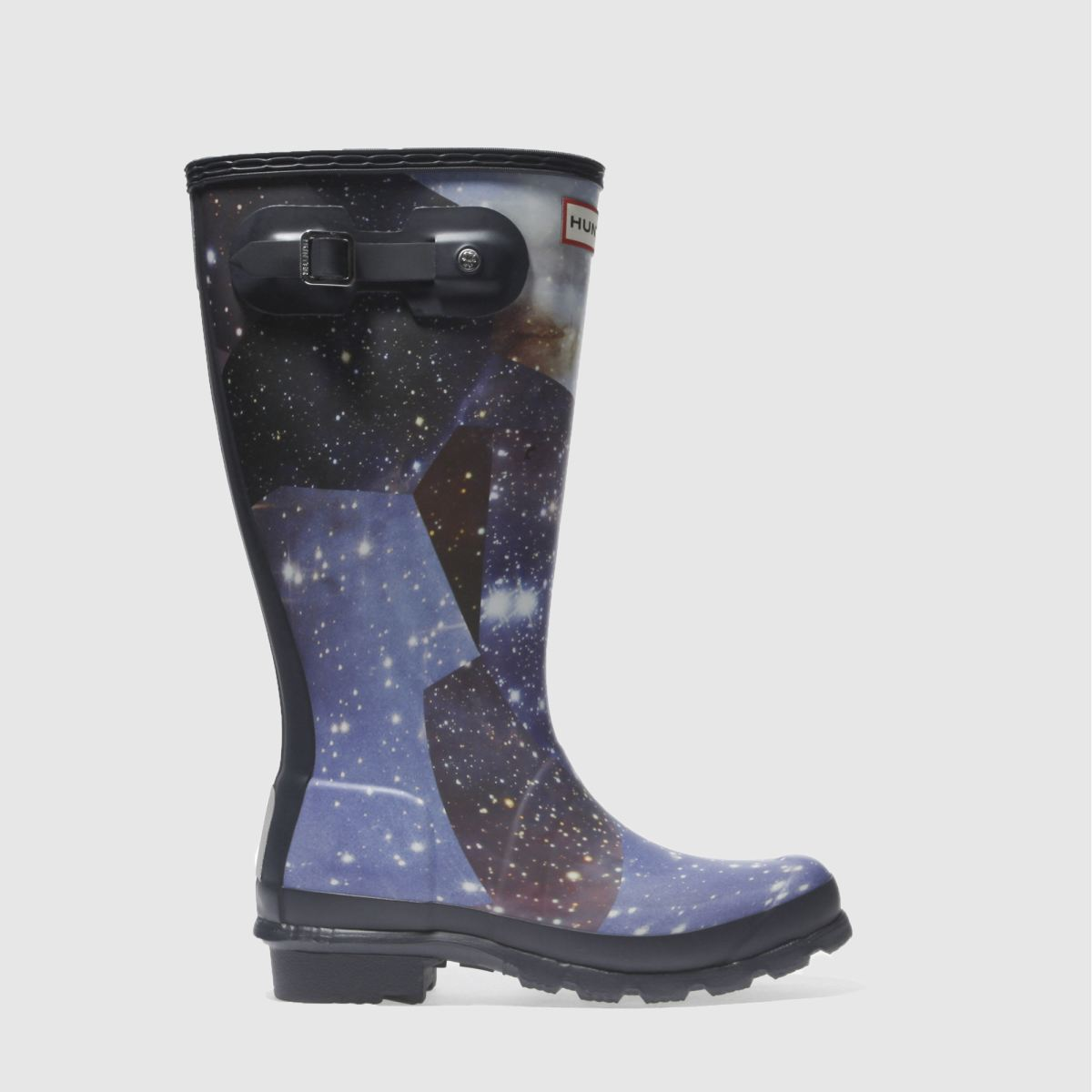 hunter navy & white origianl space camo Youth Boots