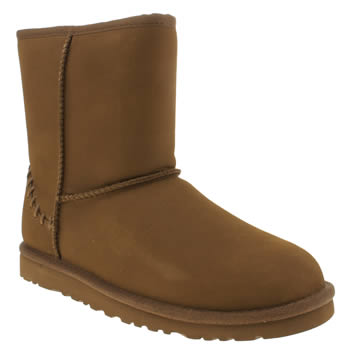 Ugg Australia Tan Classic Short Deco Unisex Youth