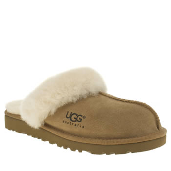 Ugg Australia Tan Cozy Slipper Unisex Youth