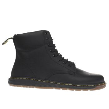 Dr Martens Black Malky Lace Unisex Youth