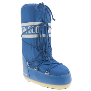 Moon Boot Blue Youth Unisex Youth