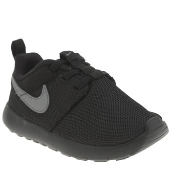 Nike Black & Grey Roshe One Unisex Toddler
