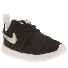 Nike Black & Silver Roshe One Unisex Toddler
