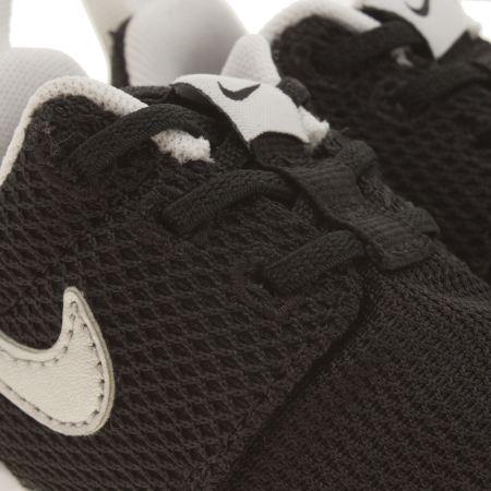 spzdx Kids Black & Silver Nike Roshe One Toddler Trainers | schuh