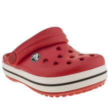 Toddler Red Crocs Crocband