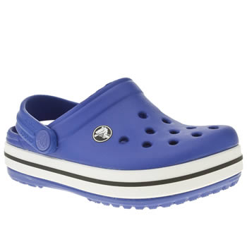 Unisex Crocs Blue Crocband Kids Tdlr Unisex Toddler