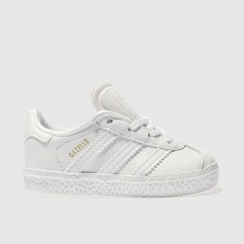 Adidas White GAZELLE Unisex Toddler