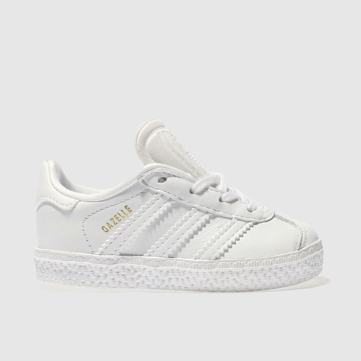 adidas white gazelle Toddler Trainers