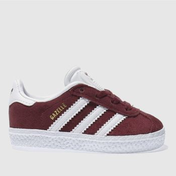 Adidas Burgundy Gazelle Unisex Toddler