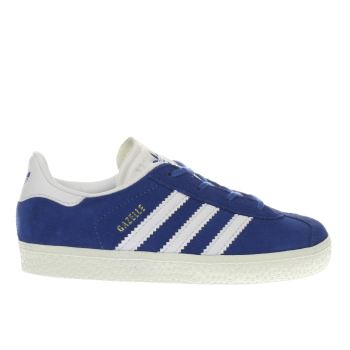 ADIDAS BLUE GAZELLE BOYS TODDLER TRAINERS