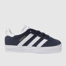 Adidas Navy & White Gazelle Tdlr Unisex Toddler