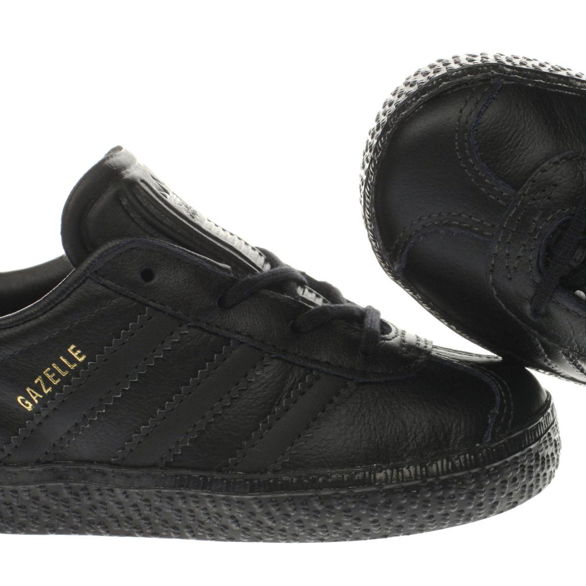 adidas gazelle green black