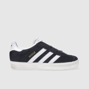 Adidas Black Gazelle Unisex Toddler