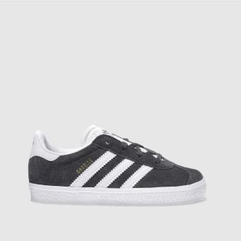 Adidas Dark Grey GAZELLE Unisex Toddler