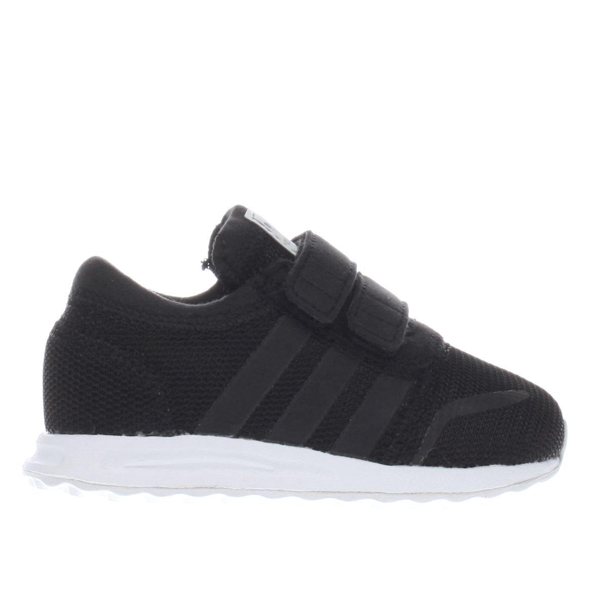 adidas black los angeles Toddler Trainers