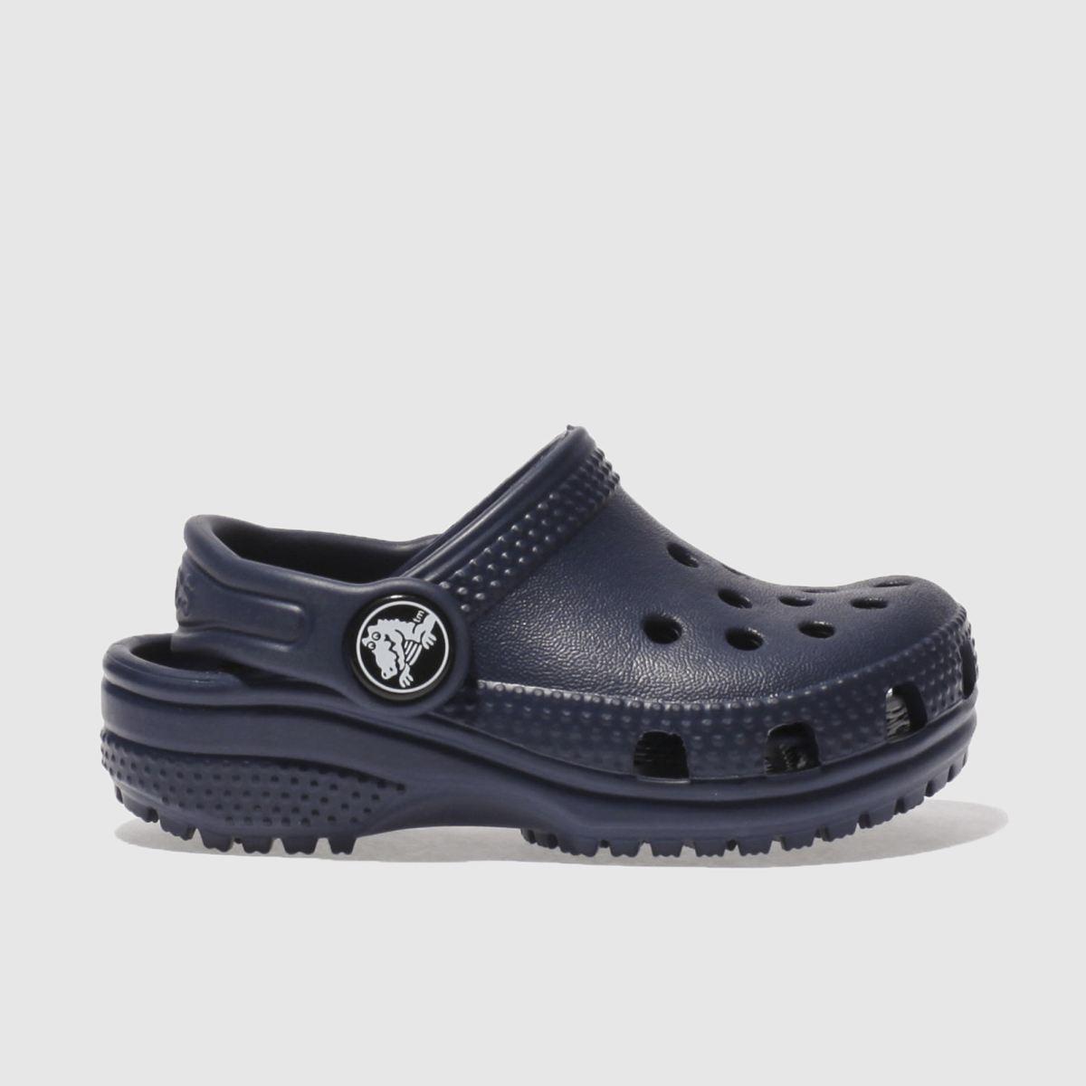 Crocs Navy Classic Clog Unisex Toddler Toddler